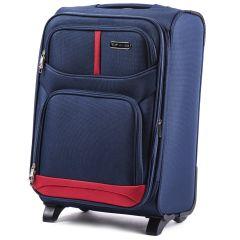Cestovní kufr WINGS 206 BLUE malý S