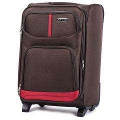 Cestovní kufr WINGS 206 COFFEE malý S