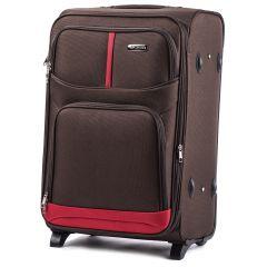Cestovní kufr WINGS 206 COFFEE střední M