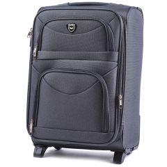 Cestovní kufr WINGS 6802 GREY malý S