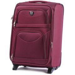 Cestovní kufr WINGS 6802 RED malý S