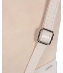 Světle růžová crossbody kabelka M151 GROSSO E-batoh