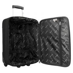 Trolley-CASE BELLUGIO malý černý S E-batoh
