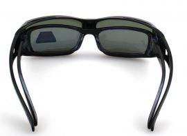 Polarizační brýle Montana FO2 na dioptrické brýle se zelenou čočkou v pouzdru MONTANA EYEWEAR E-batoh