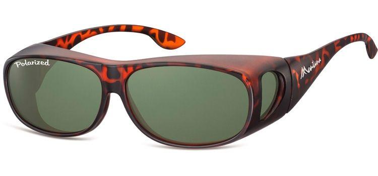 Polarizační brýle Montana na dioptrické brýle v pouzdru - mat. obruby
