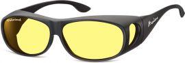 Polarizační brýle Montana na dioptrické brýle se žlutou čočkou v pouzdru