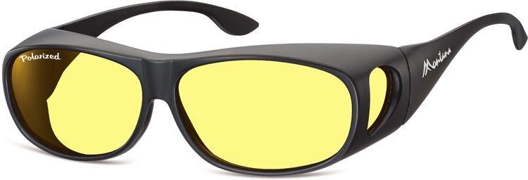 Polarizační brýle Montana FO2I na dioptrické brýle se žlutou čočkou v pouzdru