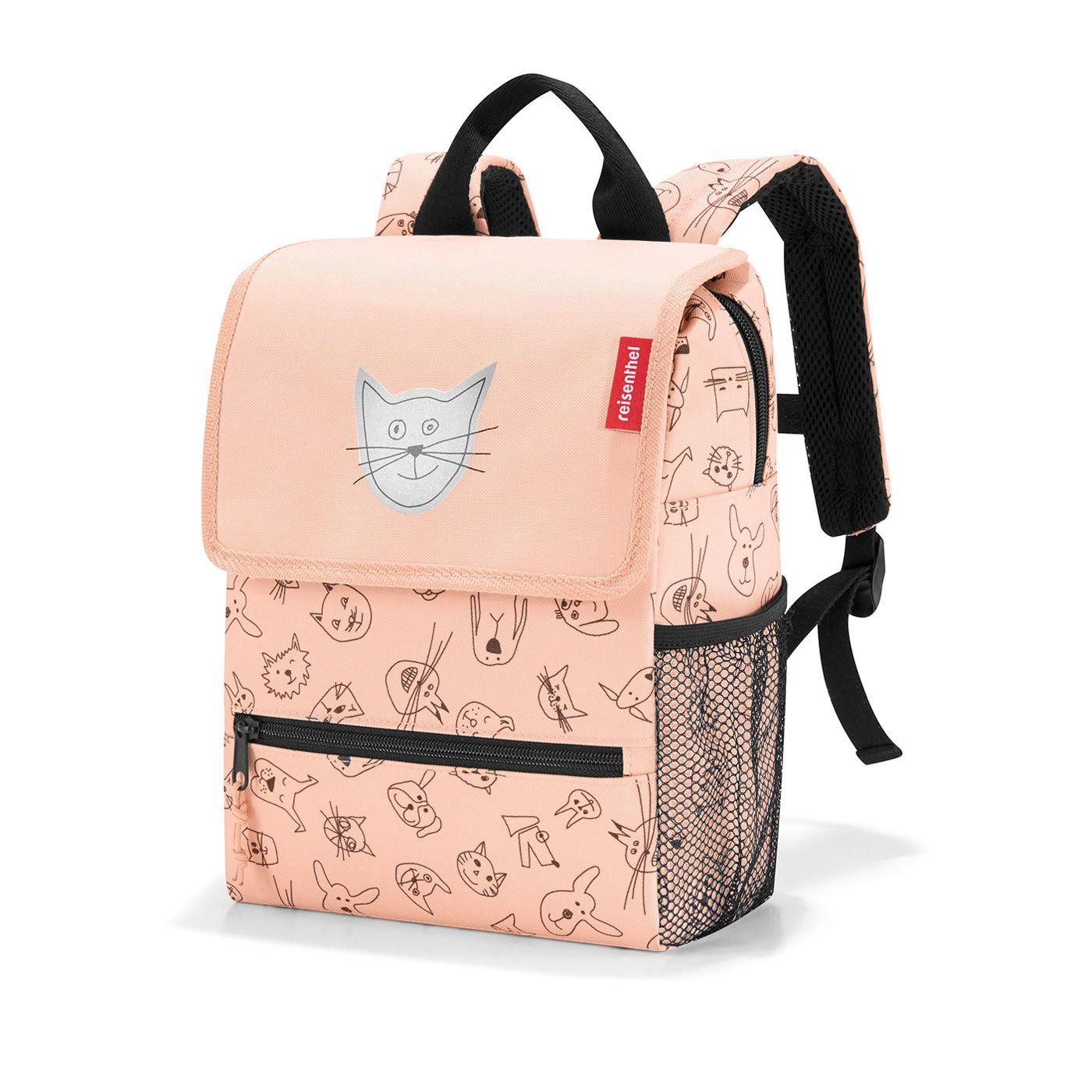Reisenthel Backpack Kids Cats and dogs rose E-batoh