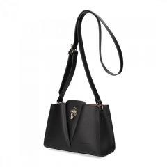 Černá matná dámská crossbody kabelka David Jones 5853-1 E-batoh