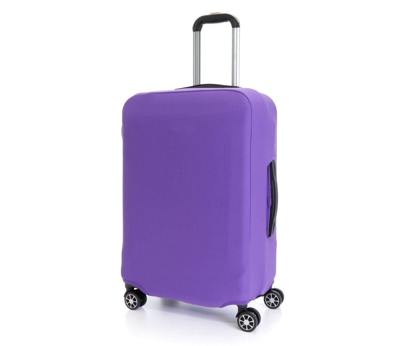 Obal na kufr malý S fialovy