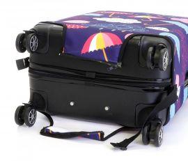Obal na kufr DEŠTNÍKY velký L E-batoh