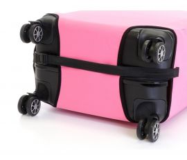Obal na kufr velký L růžový E-batoh