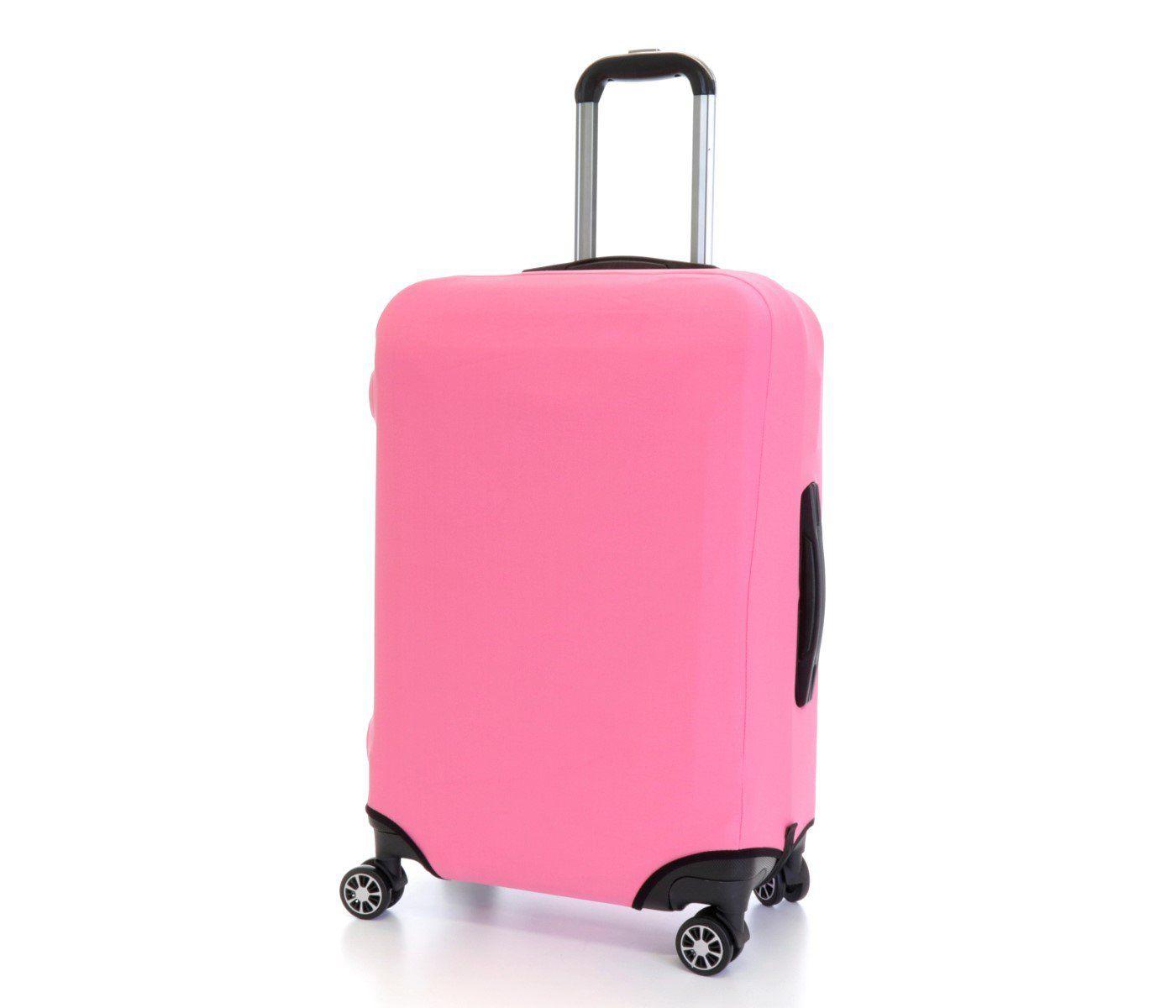 Obal na kufr velký L růžový
