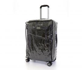 Obal na kufr velký L transparentní