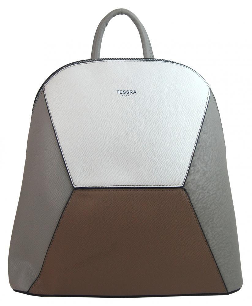 Tessra Šedý dámský elegantní batůžek 4187-TS