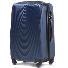 Cestovní kufr WINGS 304 ABS BLUE střední M
