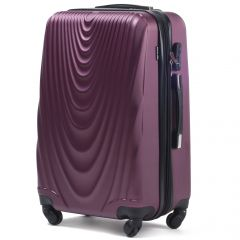 Cestovní kufr WINGS 304 ABS BURGUNDY velký L