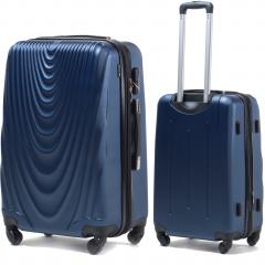 Cestovní kufr WINGS FALCON 304 ABS modrý