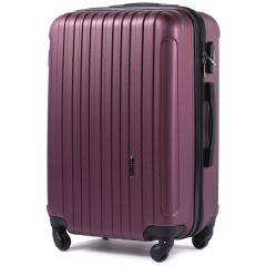Cestovní kufr WINGS 2011 ABS BURGUNDY velký L