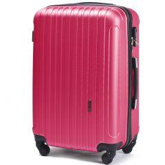 Cestovní kufr WINGS 2011 ABS ROSE RED velký L