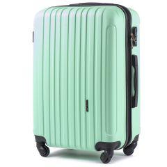 Cestovní kufr WINGS 2011 ABS LIGHT GREEN velký L