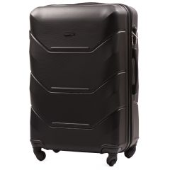 Cestovní kufr WINGS 147 ABS BLACK velký L