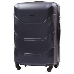 Cestovní kufr WINGS 147 ABS BLUE velký L