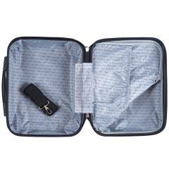 Kosmetický kufřík WINGS 147 ABS BLUE E-batoh