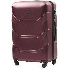 Cestovní kufr WINGS 147 ABS BURGUNDY velký L
