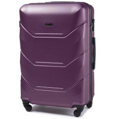 Cestovní kufr WINGS 147 ABS DARK PURPLE velký L
