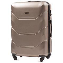 Cestovní kufr WINGS 147 ABS CHAMPAGNE velký L