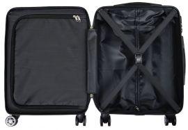 Cestovní polykarbonátový kufr RŮŽE malý S MONOPOL E-batoh