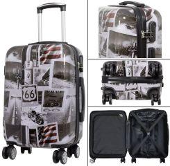 Cestovní polykarbonátový kufr AMERICA malý S MONOPOL E-batoh