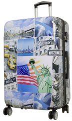 Cestovní kufr NEW YORK3 velký L