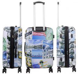Cestovní kufr NEW YORK3 střední M MONOPOL E-batoh