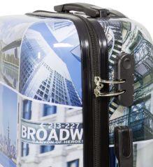 Cestovní kufr NEW YORK3 malý S MONOPOL E-batoh