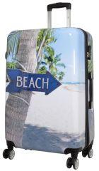Cestovní polykarbonátový kufr BEACH velký L