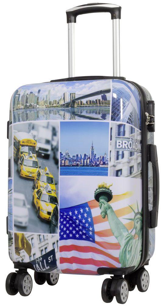 Cestovní kufr NEW YORK3 malý S