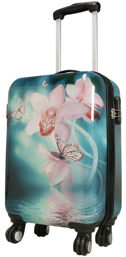 Cestovní kufr ORCHIDEJE malý S