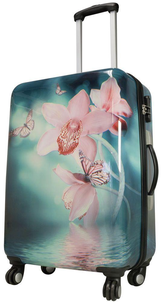 Cestovní kufr ORCHIDEJE střední M