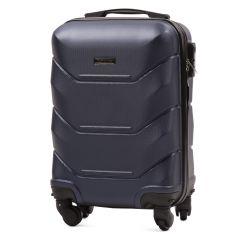 Cestovní kufr WINGS 147 ABS BLUE malý xS