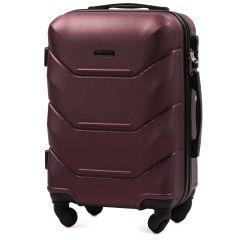 Cestovní kufr WINGS 147 ABS BURGUNDY malý S