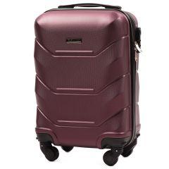 Cestovní kufr WINGS 147 ABS BURGUNDY malý xS