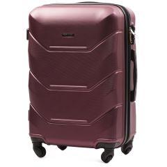 Cestovní kufr WINGS 147 ABS BURGUNDY střední M