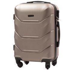 Cestovní kufr WINGS 147 ABS CHAMPAGNE malý S