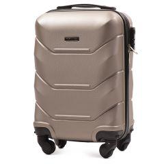 Cestovní kufr WINGS 147 ABS CHAMPAGNE malý xS