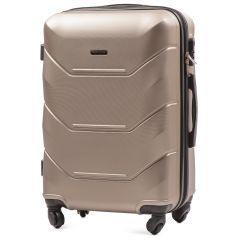 Cestovní kufr WINGS 147 ABS CHAMPAGNE střední M