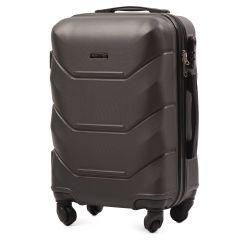 Cestovní kufr WINGS 147 ABS DARK GREY malý S