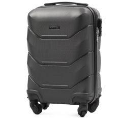 Cestovní kufr WINGS 147 ABS DARK GREY malý xS