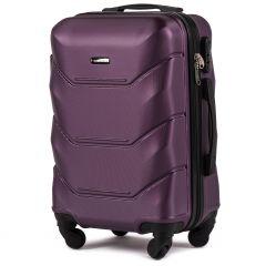 Cestovní kufr WINGS 147 ABS DARK PURPLE malý S